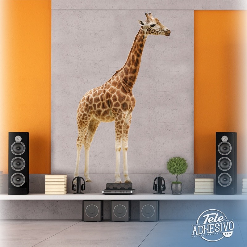 Stickers muraux: Girafe