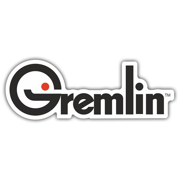 autocollant gremlin industries logo webstickersmurauxcom