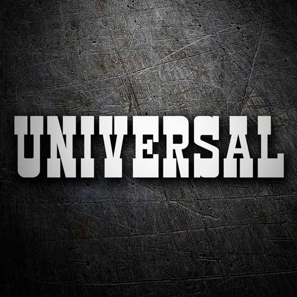Autocollants: Universal Entertainment
