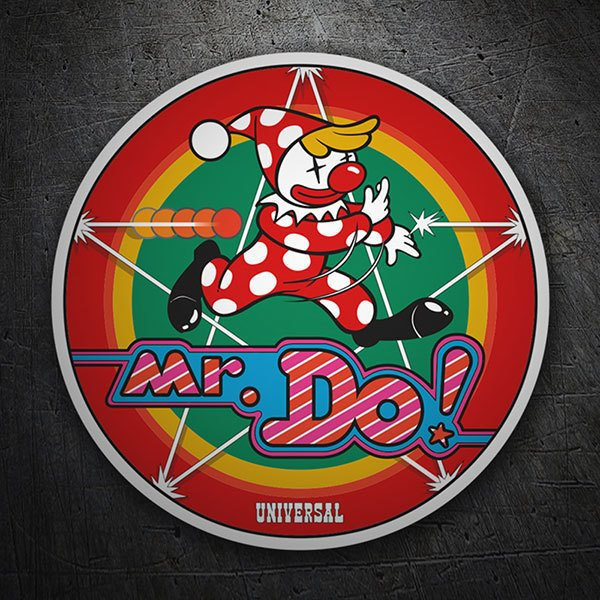Autocollants: Mr. Do! Logo