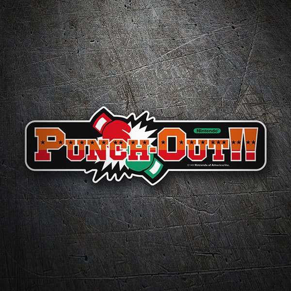 Autocollants: Punch-Out!!