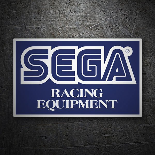 Autocollants: Sega Racing Equipment