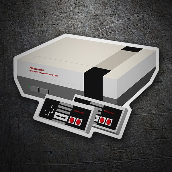 Autocollants: Nintendo Entertainment System