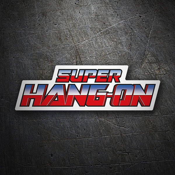 Autocollants: Super Hang-On