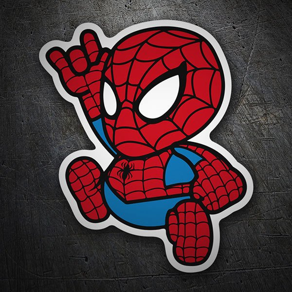 Autocollants: Spiderman Cartoon