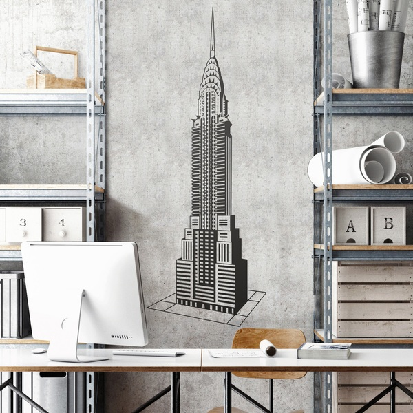 Stickers muraux: Chrysler Building