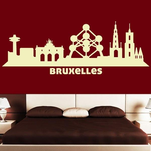 Stickers Muraux Bruxelles Matelas 2017