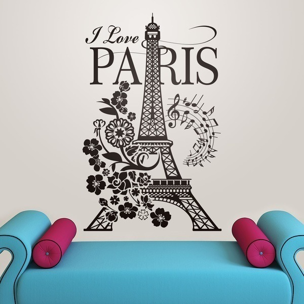 Stickers muraux: I Love Paris