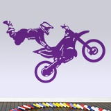 Stickers muraux: Motocross Freestyle 2