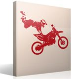 Stickers muraux: Motocross Freestyle 3