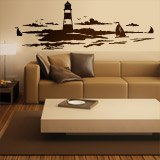 Stickers muraux: Phare maritime 2