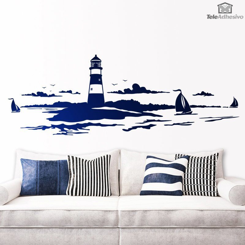 Stickers muraux: Phare maritime