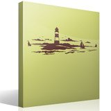 Stickers muraux: Phare maritime 4