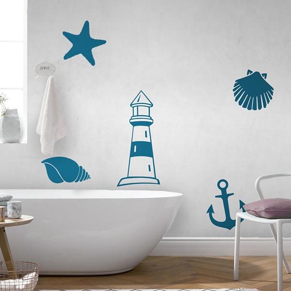 Stickers Muraux Pour La Toilette Et Salle De Bain Webstickersmuraux