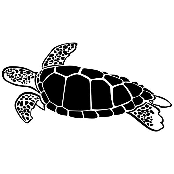 Stickers muraux: Tortue