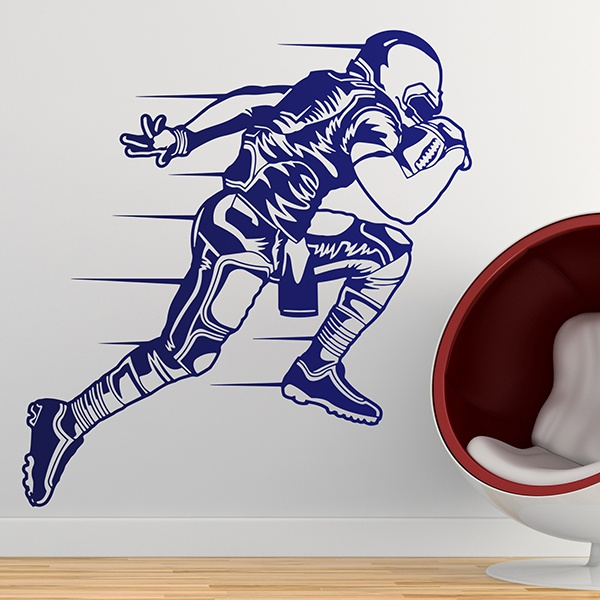 Stickers muraux: Sprint Football américain