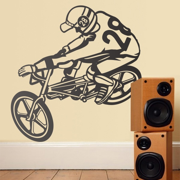 Stickers muraux: Bmx Freestyle