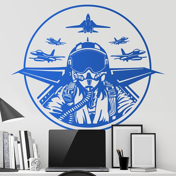 Stickers muraux: Top Gun