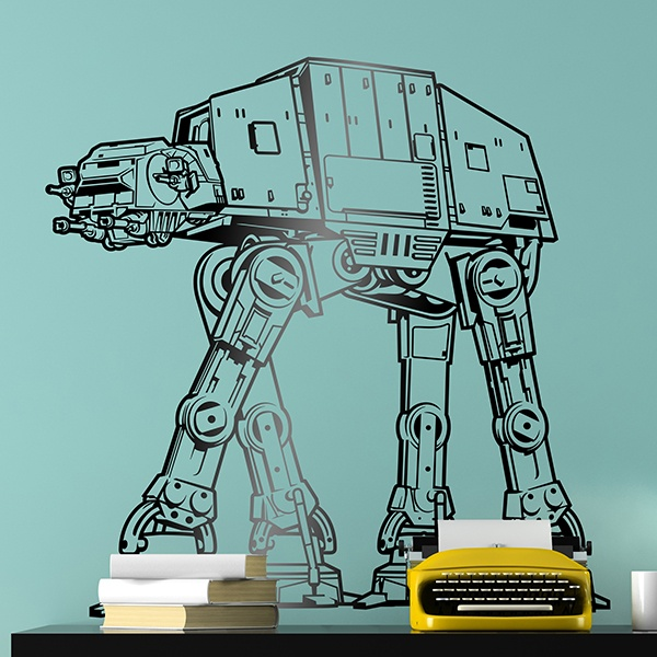 Stickers muraux: AT-AT