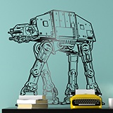Stickers muraux: AT-AT 3
