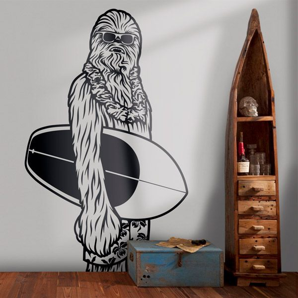 Stickers muraux: Chewbacca California
