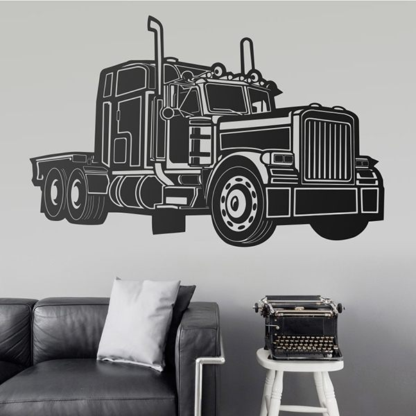 Stickers muraux: Camion Kenworth