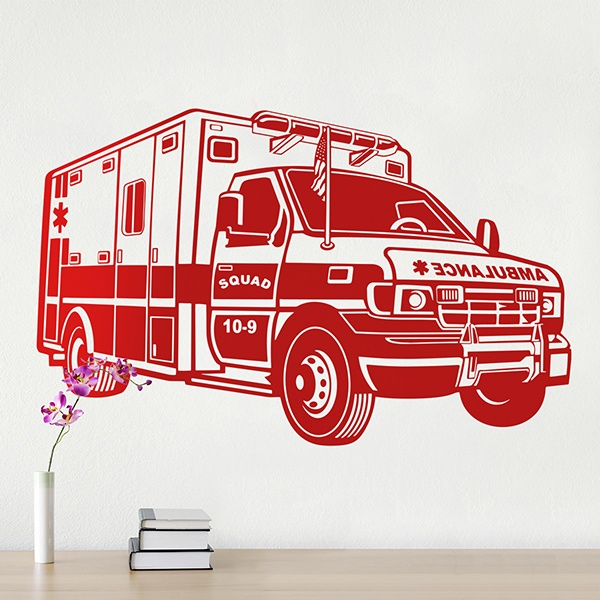 Stickers muraux: Ambulance