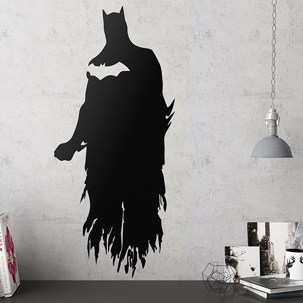 Stickers muraux: Silhouette de Batman