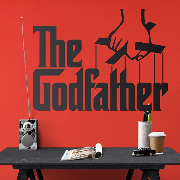 Stickers muraux: The Godfather Logo