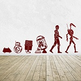 Stickers muraux: Evolution Droid 2