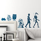 Stickers muraux: Evolution Droid 3