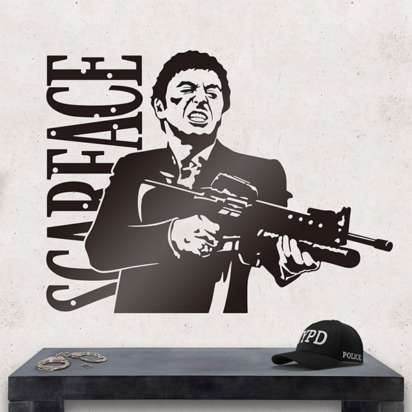 Stickers muraux: Scarface