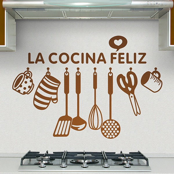 Sticker muraux pour cuisine la bonne cuisine en espagnol - La cuisine en espagnol ...