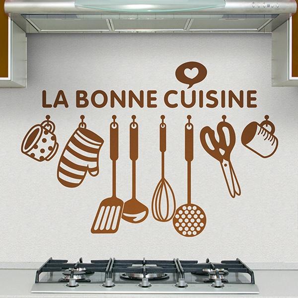 Sticker muraux pour cuisine la bonne cuisine for La bonne cuisine