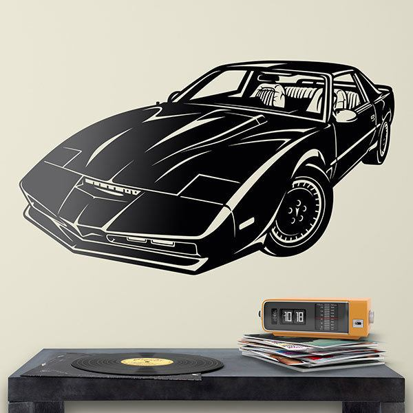 Stickers muraux: Knight Rider Kitt