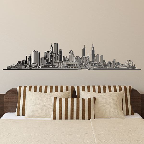 Stickers muraux: Chicago skyline