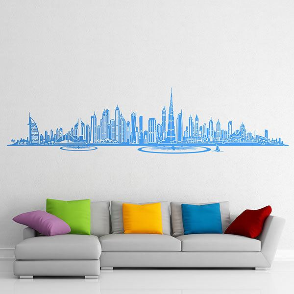 Stickers muraux: Dubai Skyline 0