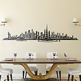 Stickers muraux: Dubai Skyline 2