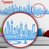 Stickers muraux: Dubai Skyline 4