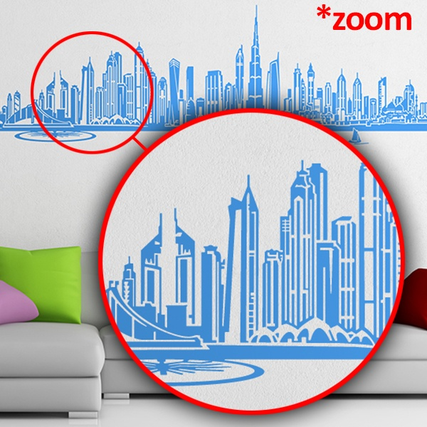 Stickers muraux: Dubai Skyline