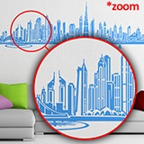 Stickers muraux: Dubai Skyline 5