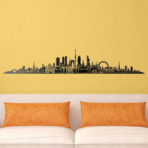 Stickers muraux: Moscow Skyline