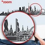 Stickers muraux: Moscow Skyline 4