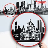 Stickers muraux: Moscow Skyline 5