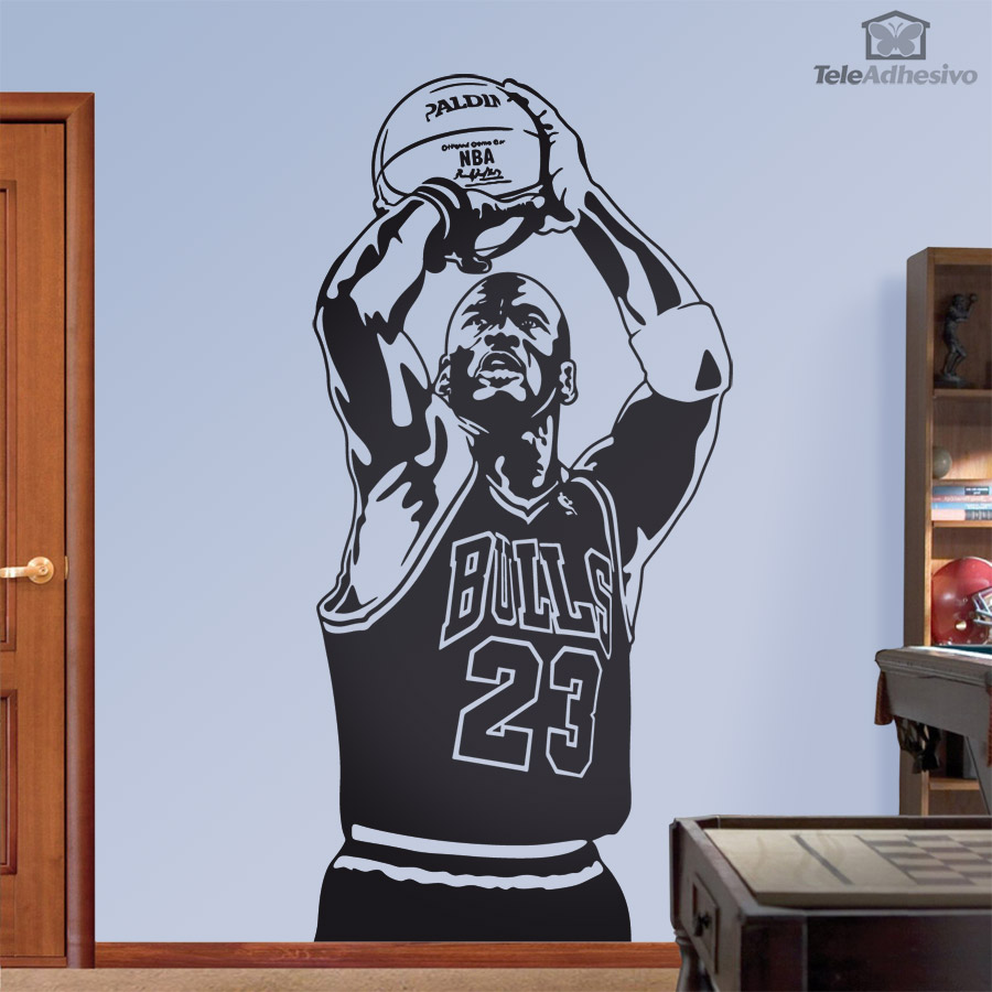 Stickers muraux: Michael Jordan