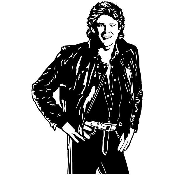 Stickers muraux: Michael Knight - Knight Rider