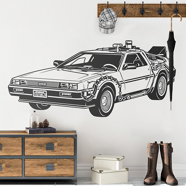 Stickers muraux: Doc DeLorean