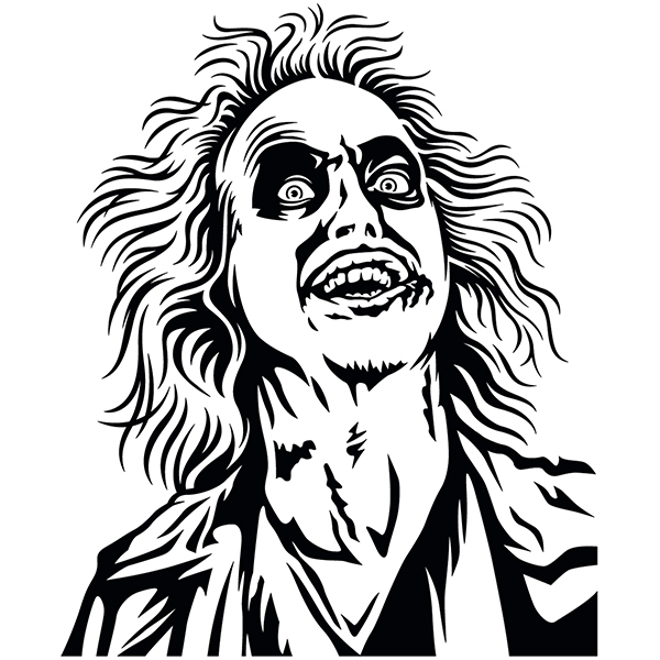 Stickers muraux: Beetlejuice