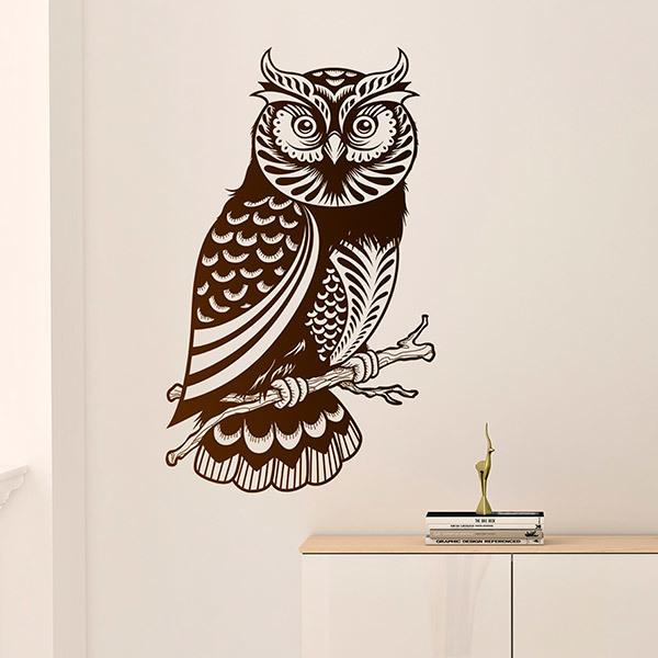 Stickers muraux: Hibou Strigidae