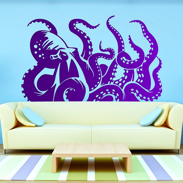 Stickers muraux: Kraken